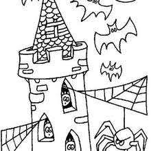haunted houses coloring pages 19 printables color