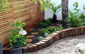 Garden Edge Ideas Wooden Garden Edging Ideas You Must See