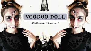 Doll Halloween Makeup Ideas by Voodoo Doll Halloween 2016 Easy U0026 Last Minute Make Up Costume