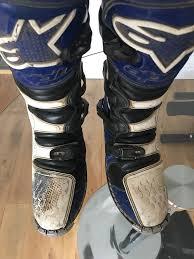 size 6 motocross boots alpine stars tech 6 enduro motocross boots size 9 in