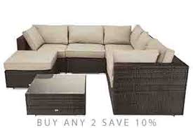 Garden Furniture Patio Sets Rattan Garden Furniture Next - Rattan outdoor sofas