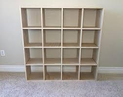 Cubic Bookcase Cube Shelf Etsy