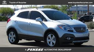 buick encore silver pre owned 2015 buick encore fwd 4dr leather suv in phoenix tp0814