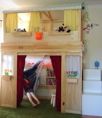 Playhouse Bunk Bed From Bunk Bed To Playhouse Ikea Hackers