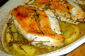 the weekend gourmet my new favorite chicken recipe lemon thyme