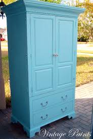 aqua armoire for a baby u0027s nursery upcycled tv armoire distressed