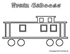 free coloring pages caboose train coloring sheet coloring