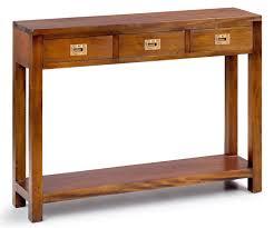 consolas muebles consola 3 cajones 1 estante colonial flamingo en tu tienda de
