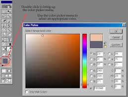 anime cging tutorial color choice