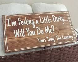 Funny Home Decor Signs Funny Laundry Sign Etsy
