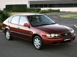 Toyota Corolla 2001 S Toyota Corolla Ascent 5 Door Au Spec Ae110 U00271999 U20132001