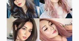 katrine bernardor hair color must see female celebrities with hair color the aldub nation