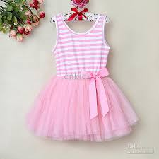 dress pattern 5 year old pettigirl hot selling children baby girls dress red striped with bow