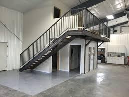 Mezzanine Stairs Design
