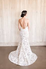 low back wedding dresses styling a low back wedding dress with a boho glam headpiece hey