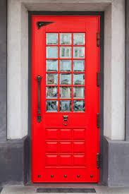 Red Door Paint by Front Doors Cute Red Front Door 62 Red Brick Front Door Colors