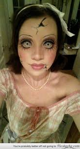 33 totally creepy makeup looks to try this halloween amazing