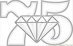 diamond wedding coloring printable coloring kids