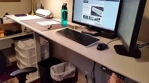 Adjustable Height Desk Frame by Uplift 900 Adjustable Desk Review Youtube