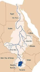 parana river map nile wwf