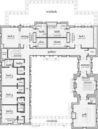 southern plantation style house plans plan 44055td revival with tour southern