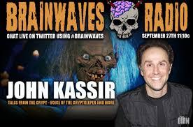 bk promo code halloween horror nights brainwaves episode 61 john kassir u2013 voice of the cryptkeeper and