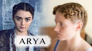 game of thrones hair tutorial for short hair arya in braavos