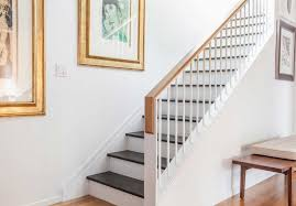 Removable Banister Articles With Removable Basement Stair Railing Ideas Tag Stairway
