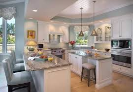 Traditional Kitchen Stools - traditional kitchen with kitchen island by bill charlson zillow