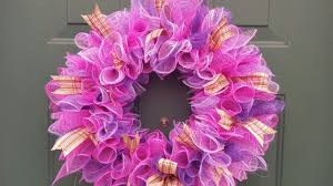 diy wreaths deco mesh wreath dollar tree diy