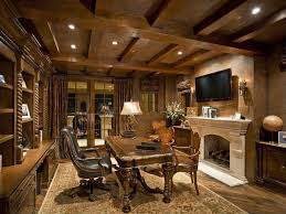 office luxurious home wooden office design ideas with high