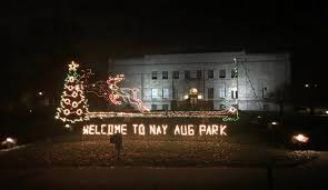 nay aug park light show starts friday news the