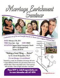 Invitation Card Format For Seminar Marriage Enrichment Seminar My Tucson Wedding