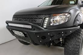 ranger ford lifted global ford ranger gets unique dealer equipped raptor face lift