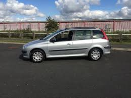 2004 54 peugeot 206 estate 1 4 petrol manual gearbox silver will
