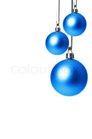 blue balls isolated with white background stock photo