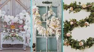 diy shabby chic style garland decor ideas home decor