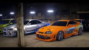toyota all cars need for speed 2015 furious paul walker all cars youtube
