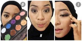 tutorial make up wardah untuk pesta ini vindy yang ajaib tutorial make up natural dan hijab wisuda ala
