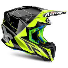 661 motocross helmet airoh twist cairoli mantova yellow motocross mx helmet matt