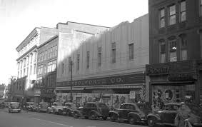 grand opening of the f w woolworth store on congress street 1946
