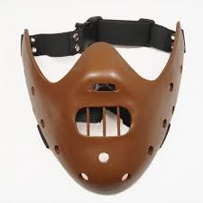 amazon com gmasking resin hannibal lecter mask replica coffee