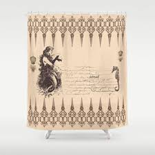 shop mermaid shower curtain bath on wanelo