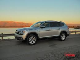 vw atlas 2018 volkswagen atlas american size 3 row suv with european flair