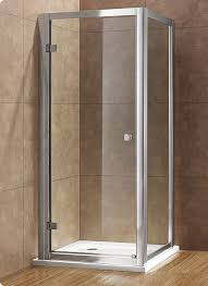 Easy Clean Shower Doors Plus Eight 1000mm Hinged Shower Door With Easy Clean Glass