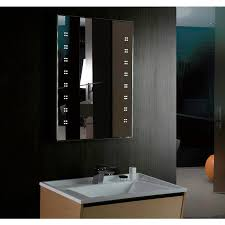 800 x 600mm illuminated led mirror with demister u0026 shaver socket