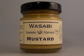 wasabi mustard wasabi mustard tasman s harvest