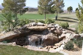 Rock Water Features For The Garden Backyard Rock Water Features All For The Garden House