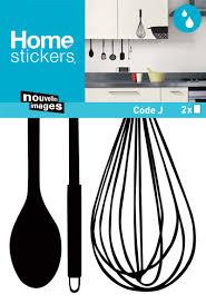 ustencils cuisine sticker mural ustensiles de cuisine