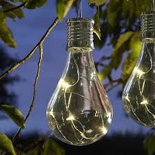 eureka solar light bulb solar garden lanterns webbs direct